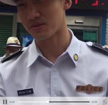 160729明洞観光警察チャミ