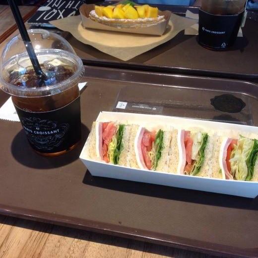 160916韓国旅行カフェ朝食