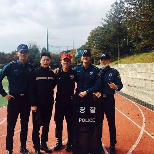 161105ソウル警察チャミ