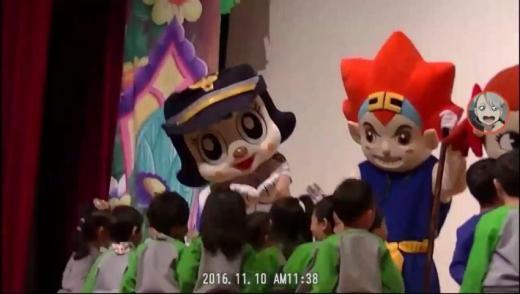 161110広報団人形劇チャミ