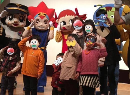 161115広報団人形劇チャミ