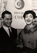 Nanni Ricordi e Maria Callas