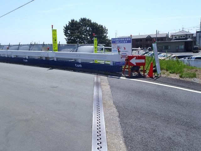今之浦河橋改修工事 2 橋台上部
