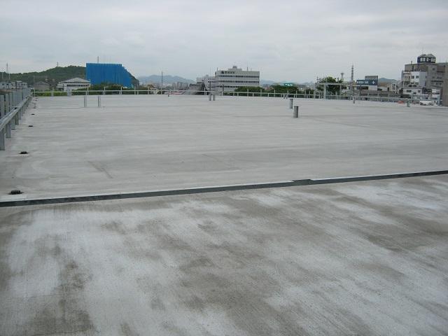 立体駐車場 シッカリート改質用 姫路 3 施工後
