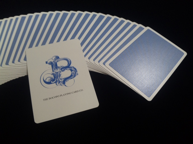 Blue Steel Playing Cards (4)