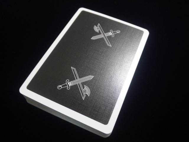 KINGS Black Playing Cards (3)