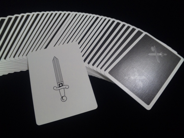 KINGS Black Playing Cards (4)