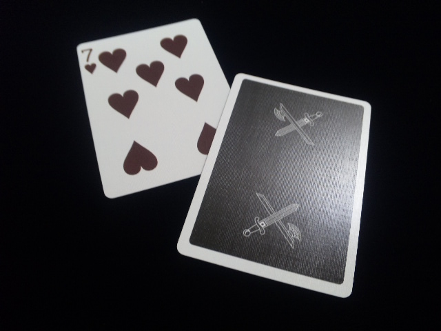 KINGS Black Playing Cards (6)