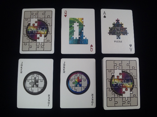 Puzzled Playing Cards (5)