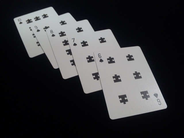 Puzzled Playing Cards (7)