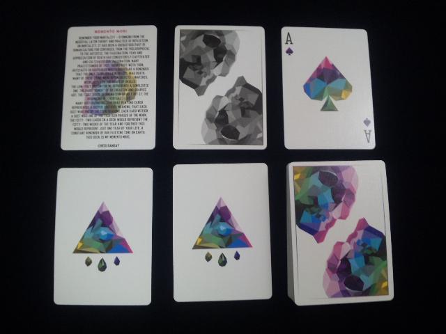 Memento Mori Playing Cards (5)
