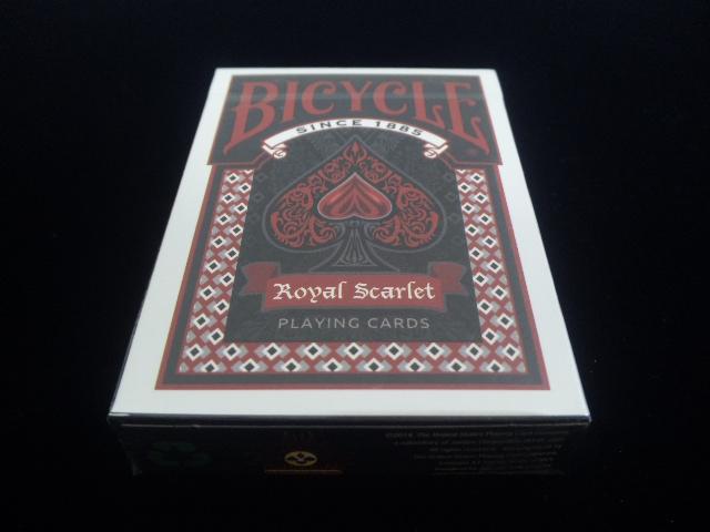 Royal Scarlet Playing Cards (3)