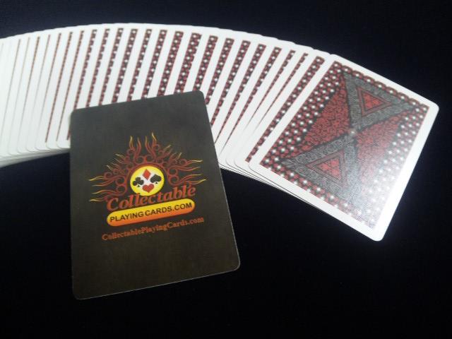 Royal Scarlet Playing Cards (5)