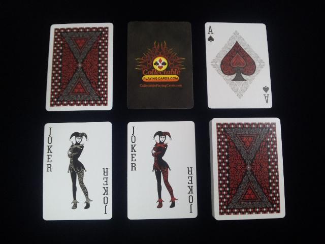 Royal Scarlet Playing Cards (6)