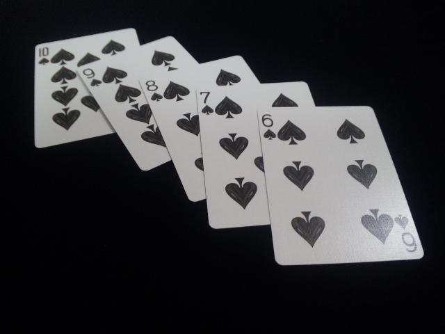 Royal Scarlet Playing Cards (8)