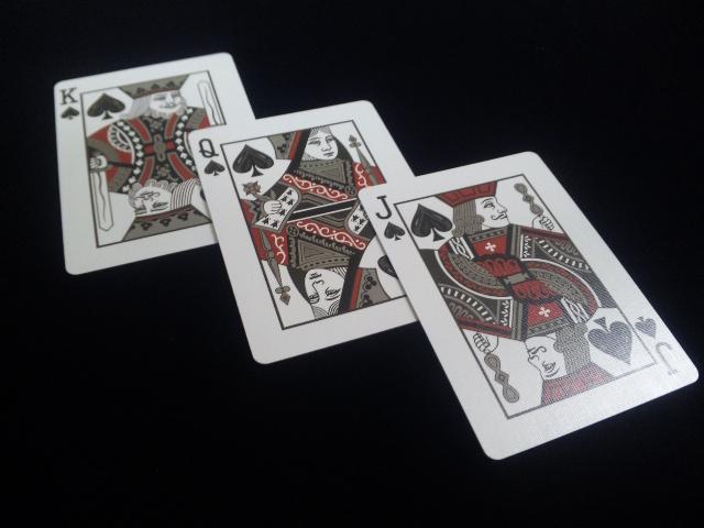 Royal Scarlet Playing Cards (9)
