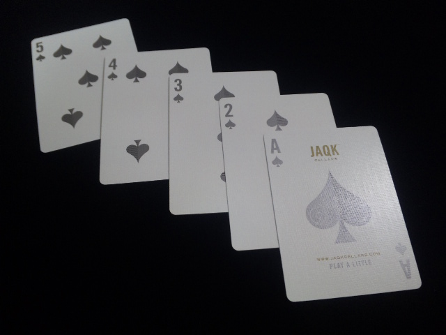 JAQK Cellars Playing Cards Blue Edition (6)