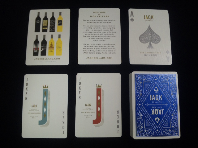 JAQK Cellars Playing Cards Blue Edition (5)
