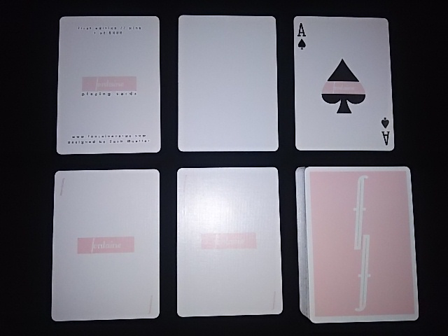 Fontain Playing Cards Pink (5)