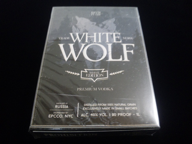 White Wolf Vodka Playing Cards (1)