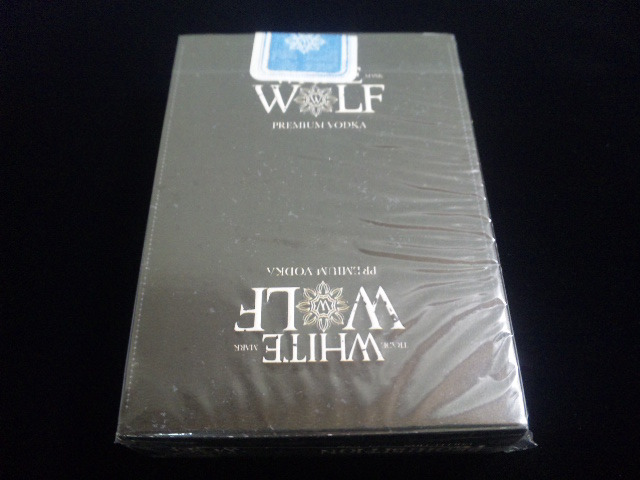 White Wolf Vodka Playing Cards (2)
