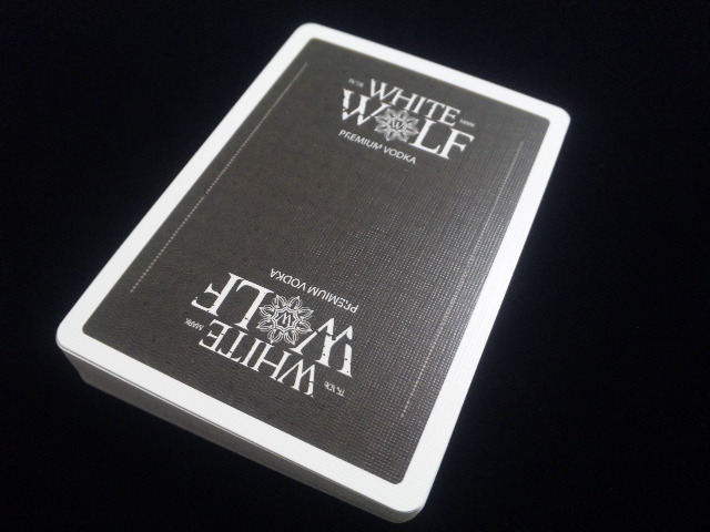 White Wolf Vodka Playing Cards (3)