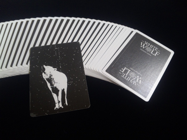 White Wolf Vodka Playing Cards (4)