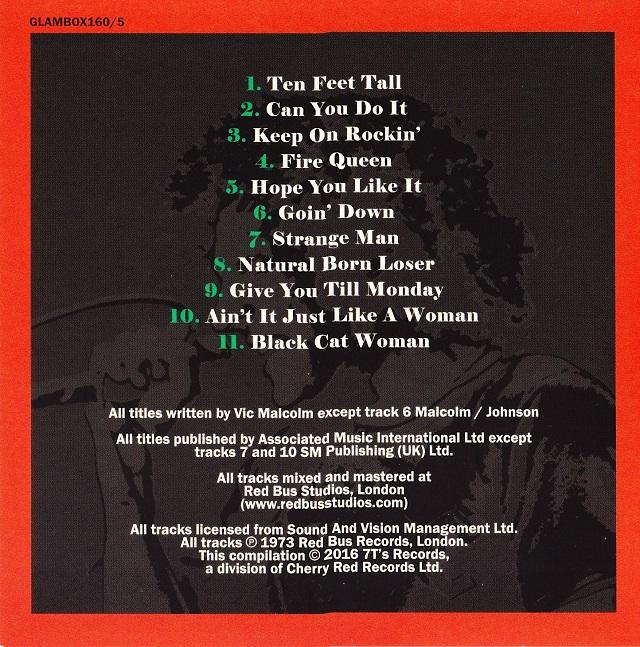 Geordie / The Albums Disc5(裏)