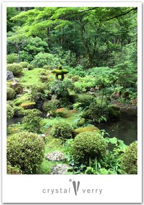 三千院 額縁庭園