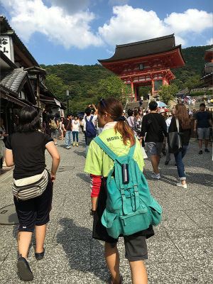 女子二人in清水寺