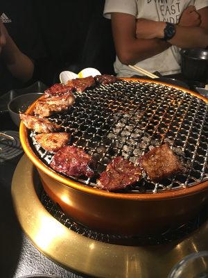 肉の大名行列