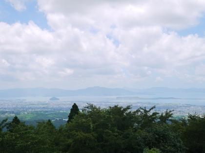 鉢巻山展望所から(1)