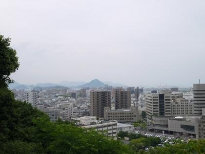 富士見台展望台からの眺望