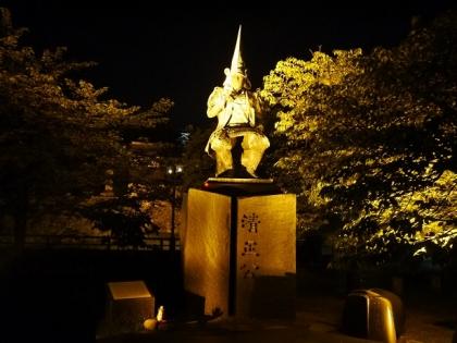 加藤清正公像(1)