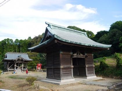 釈迦堂八幡神社(2)