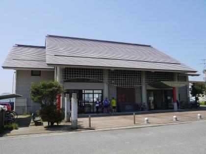 志賀島渡船場