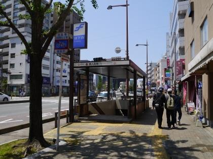 地下鉄「唐人町」駅