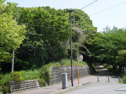 西公園西側入口