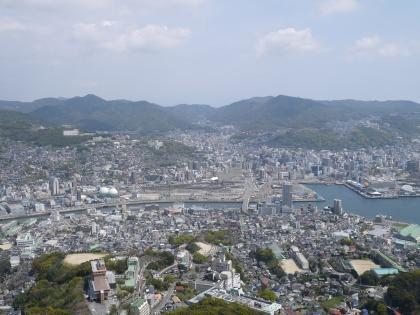 稲佐山展望台から(1)