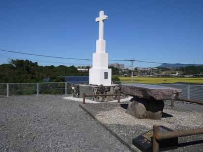 鈴田牢の碑