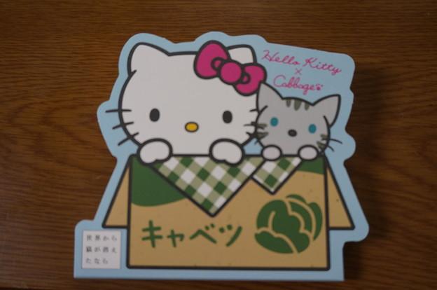 キティちゃんのコラボメモ