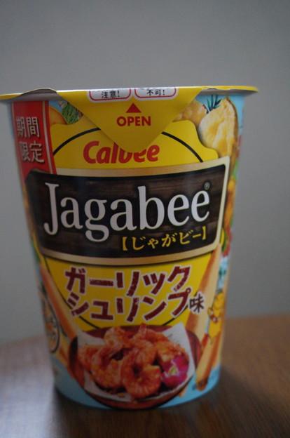 ジャガビー ガーリックシュリンプ味