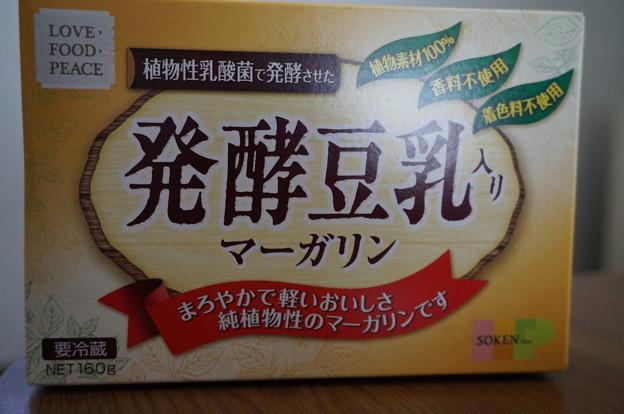 発酵豆乳マーガリン
