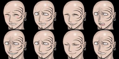 ニック表情3、ハゲ