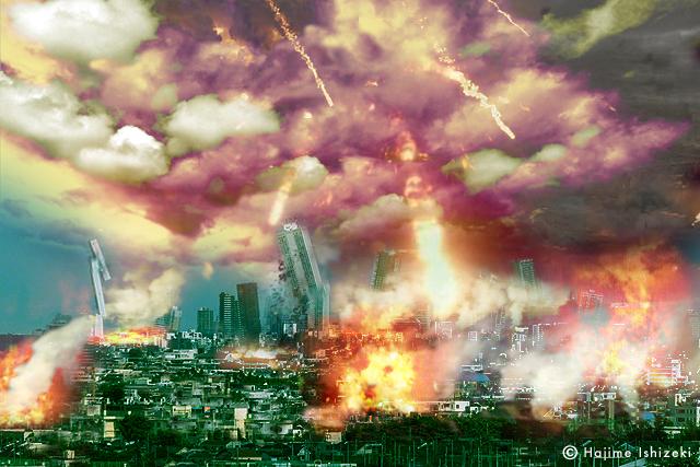 東京首都直下巨大地震