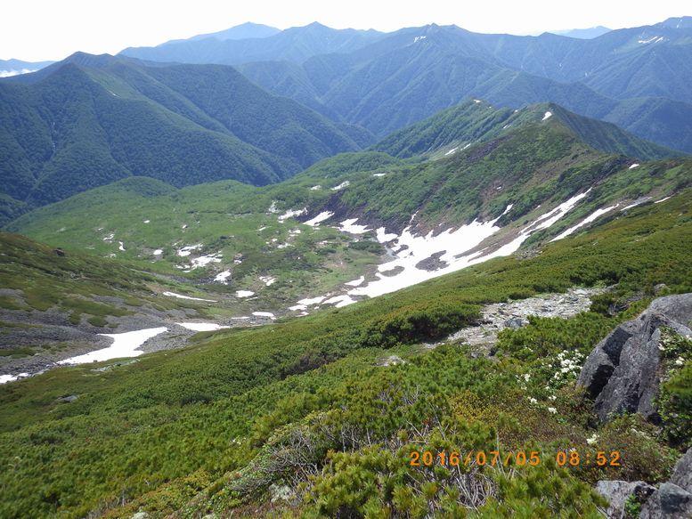幌尻岳東カール