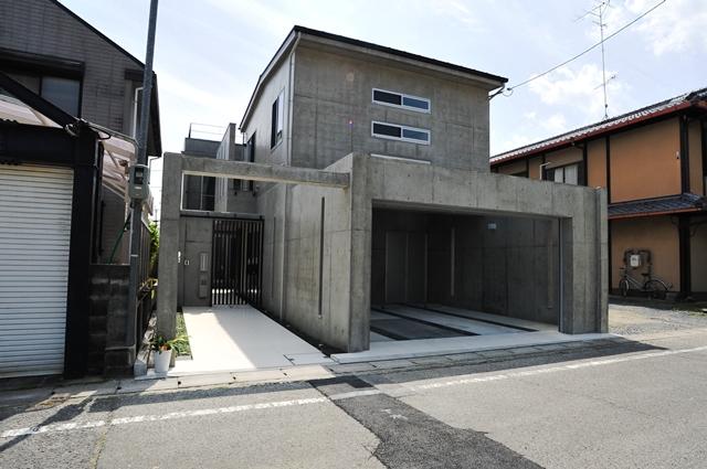 京都の注文住宅 デザイナーズ住宅 外観