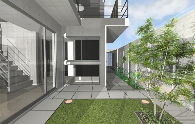 京都市北区の鉄筋コンクリート注文住宅