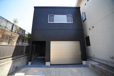 注文住宅、京都府八幡市、ガレージハウス