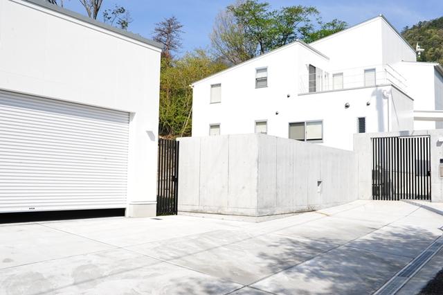 注文住宅,滋賀県大津市,リゾートモダン住宅の外観